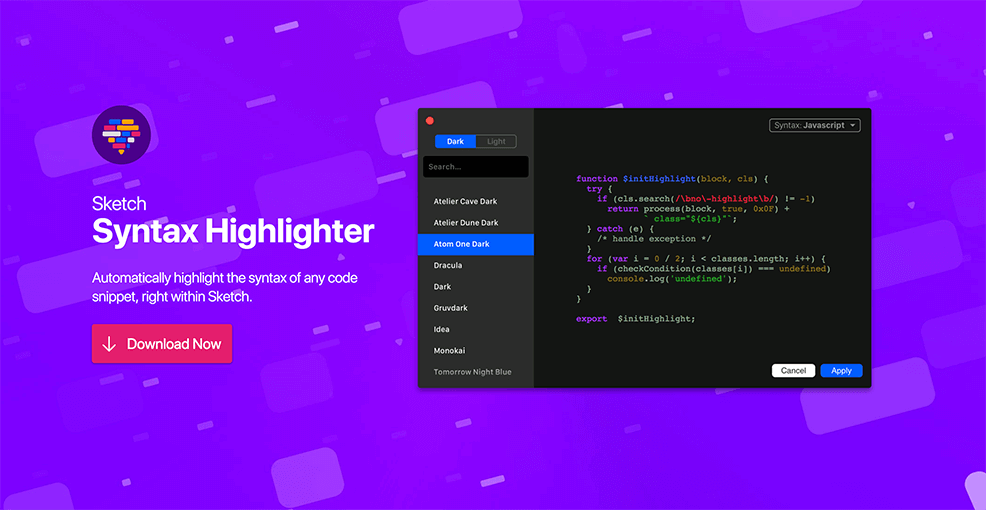 Sketch Syntax Highlighter