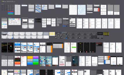 iOS 9.3 UI tool kit