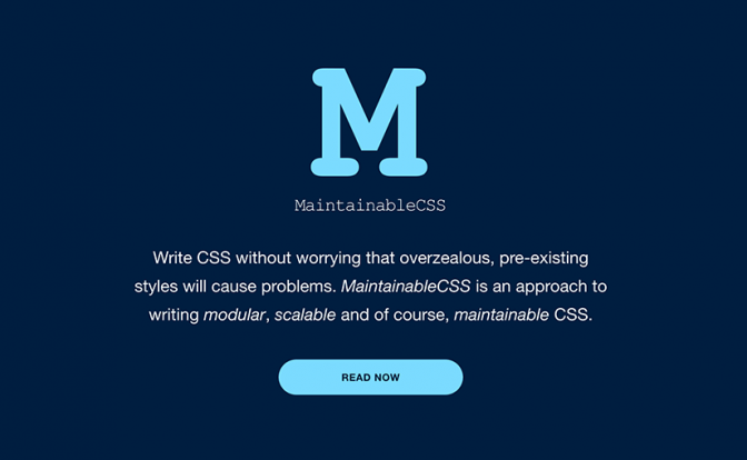 maintainable-css