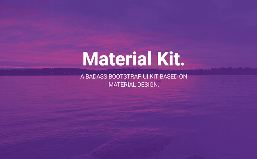material-kit-bootstrap