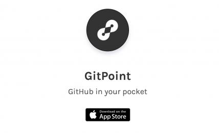 GitPoint GitHub in your pocket
