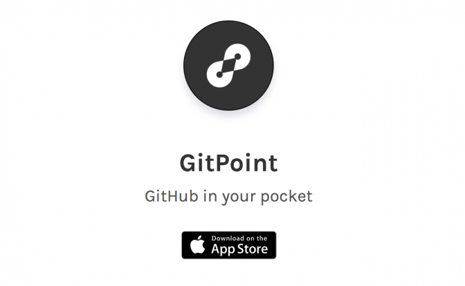 GitPoint GitHub in your pocket