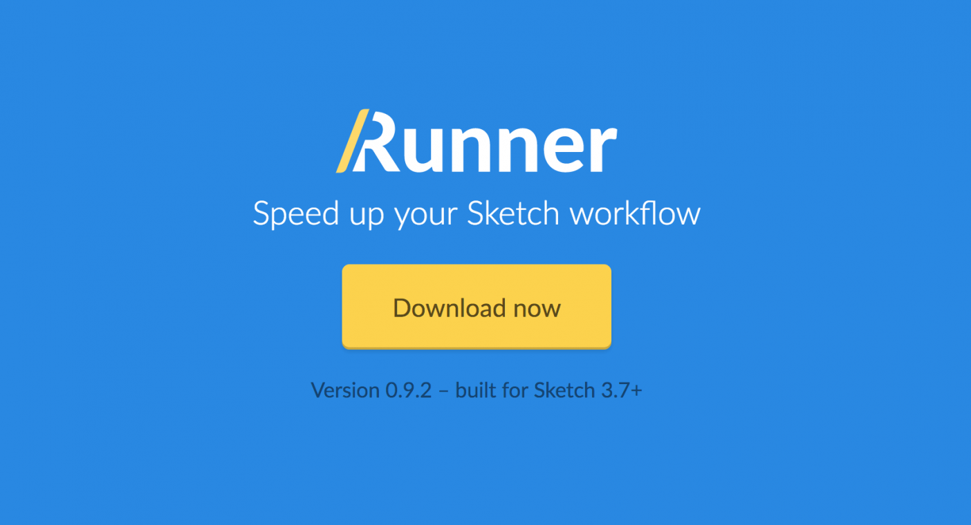 Speed up your Sketch workflow