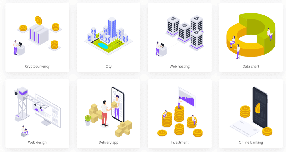 Free illustrations isometric
