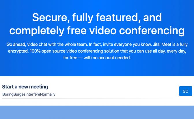 Jitsi Meet Free Video Conferencing